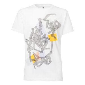 ThokkThokk Fiber T-Shirt white - THOKKTHOKK