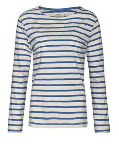 Sailor Shirt Breton Ecru Aquatic - Seasalt Cornwall