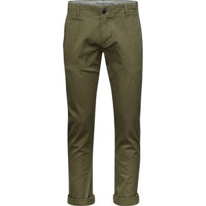 Chino Hose - Chuck The Brain - Burned Olive - KnowledgeCotton Apparel