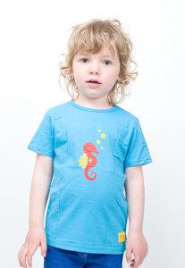 T-Shirt Seepferdchen Rot - Kleine Freunde®  - 3FREUNDE
