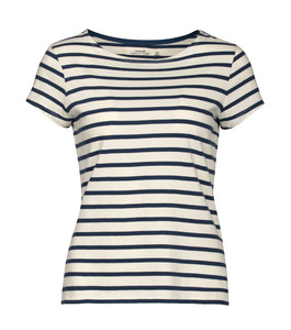 Sailor T-Shirt Breton Ecru Night - Seasalt Cornwall