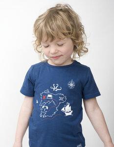 T-Shirt Schatzkarte - Kleine Freunde®  - 3FREUNDE