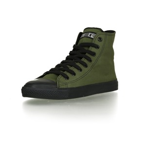 Black Cap Hi Cut Classic Camping Green | Jet Black - Ethletic