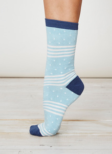 Catherine Socks - Nile Blue  - Thought | Braintree