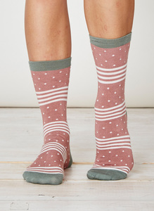 Catherine Socks - Terracotta - Thought | Braintree