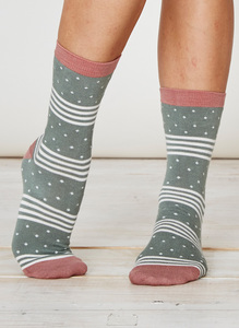 Catherine Socks - Sage - Thought | Braintree