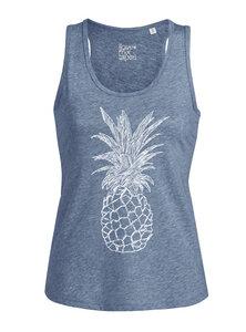 Ananas Organic & Fair Women Tank Top _blue - ilovemixtapes