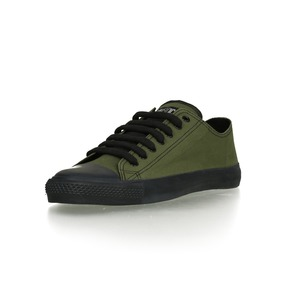 Black Cap Lo Cut Classic Camping Green | Jet Black - Ethletic