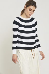 LANIUS- Seamless Pullover Stripes - Lanius