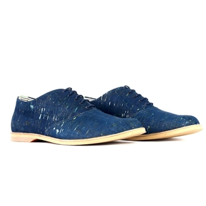 '74 Kork Oxfords Blau - SORBAS