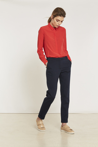 LANIUS- Pikeehose Slim Fit  - Lanius