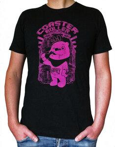 'Honigbär', T-Shirt aus Biobaumwolle - Coaster Roller