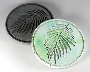 Untersetzer Palm Leaf Grau - Concrete Jungle | Betonmanufaktur