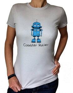 Girlie 'Jimmy', T-Shirt aus Biobaumwolle - Coaster Roller