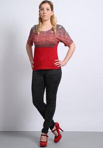 Shirt Farbrausch rot - Die rote Zora