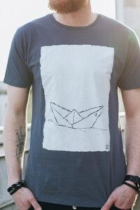 Paperboat 2.0 Men T-Shirt Bio & Fair Wear _ grapit - ilovemixtapes