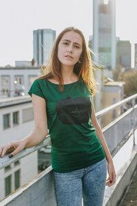 Fuchs Women Fair & Bio Cap Sleeve Shirt _ green - ilovemixtapes