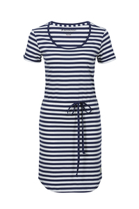 Shirt Dress stripes navy / white - recolution