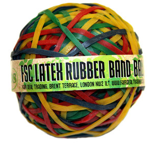 Rubber Band Ball - Green Tips