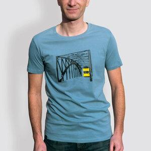 "Herren T-Shirt, ""Stadtrundfahrt"", Citadel Blue - little kiwi"
