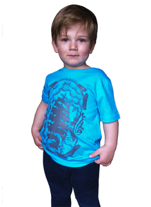 'Forch Gock Kids', T-Shirt aus Biobaumwolle - Coaster Roller
