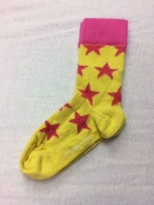 Socks Star Yellow - Fred's World by Green Cotton