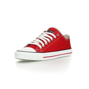 Fair Trainer Lo Cut Classic Cranberry Red | Just White - Ethletic
