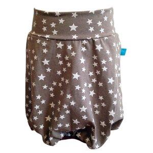 Ballonrock, kleine Sterne, taupe - bingabonga