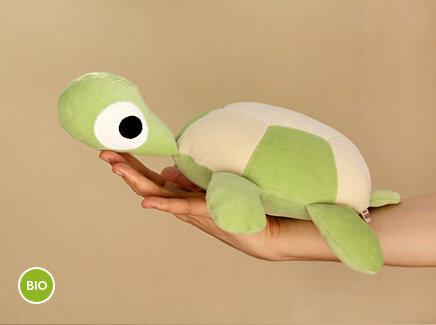 hej Marie - Nähpaket mit Anleitung + Stoffe Schildkröte grün ...