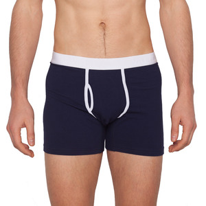 "Boxer Brief 'Classy Claus"" Navy - VATTER"
