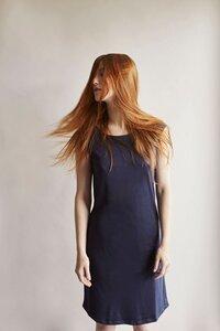 Sommerliches Bio-Baumwoll Kleid - Les Racines Du Ciel