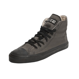 Black Cap Hi Cut Classic Pewter Grey | Jet Black - Ethletic