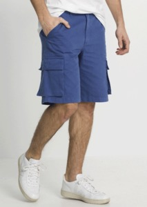 Cargo Shorts blau - recolution