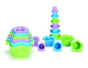 Stapelförmchen - Spielen mit unverwüstlichen Steinen - Green Toys