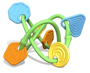 Beissring - Twist Teether - Green Toys
