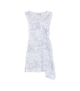 Kleid Emily, white print - Jaya
