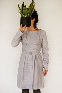 Kleid Sarah Flieder - Johanna Binger natürlich weiblich