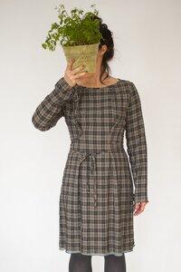 Kleid Greta, Karomuster - Johanna Binger