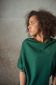 Kleid Perre Green Melange - KOKOworld