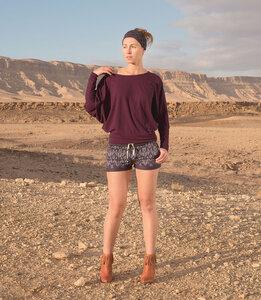 Shorts Apple (print), desert sand - Jaya