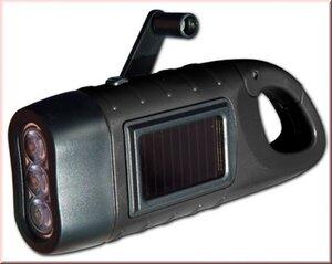 Seahorse - Dynamo-/Solarleuchte - Powerplus