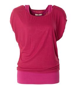 Shirt Lucy, beet red - Jaya