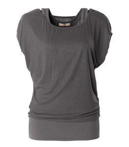 Shirt Lucy, charcoal - Jaya