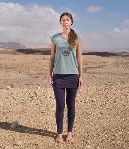 T-Shirt Fatima, aqua - Jaya
