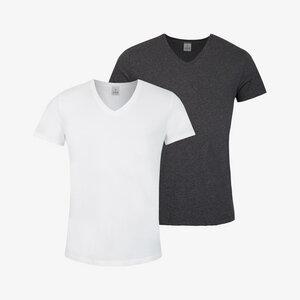 hugo im 2er pack- t-shirt aus 100% baumwolle - erlich textil