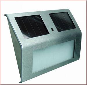 Goldfinch multifunktionale Solar-Wandleuchte - Hausnummernleuchte - Powerplus