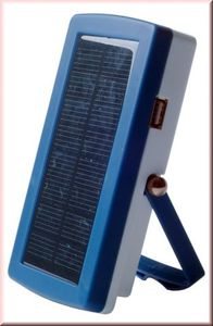 Lizard Solar Ladegerät für AA Akkus - USB Powerbank - Powerplus