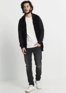Knitted Zipper anthracite - recolution