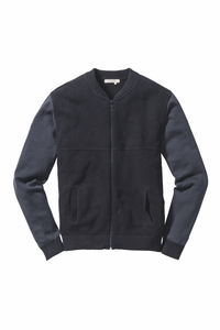 Knitted College Jacke anthracite - recolution