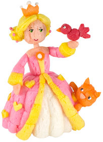 PlayMais One Princess - Prinzessin - PlayMais